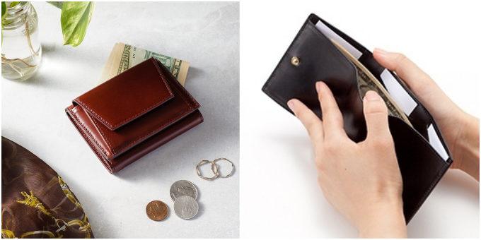 「UNROOF JAPAN」の三つ折り財布の写真