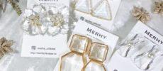 上品さとリッチさが融合。海外インポートアクセサリー「MERHY」が贈る煌めくピアス特集