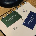 自分だけの特別なノートに。名刺や写真、好きな紙を綴じ...
