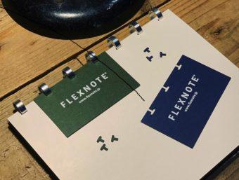 自分だけの特別なノートに。名刺や写真、好きな紙を綴じられる「FLEXNOTE」専用パンチ