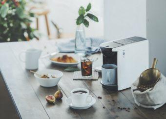これ一台で50通り以上の飲み方が可能。自宅でのお茶の時間を楽しくするコーヒーマシン