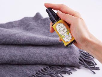 衣類に吹きかければポカポカに。国産ゆずの香りに癒される温感ミスト