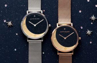 新生活のお守りに。ストーンや月・星のモチーフが輝く「ALETTE BLANC」の腕時計