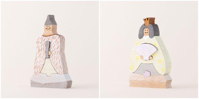 無垢材の温もりと愛らしいデザインが魅力。大人が欲しくなる「iriki」のおひなさま