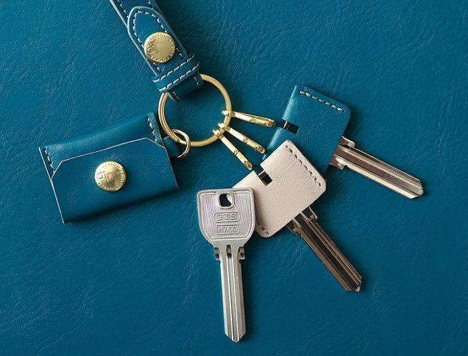 私は鍵を失くさない。紛失防止機能が付いた「LIFE POCKET」のおしゃれなキーリング