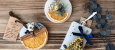 空間に癒しを。香りも見た目も楽しめる「make tea party」のアロマワックスサシェ