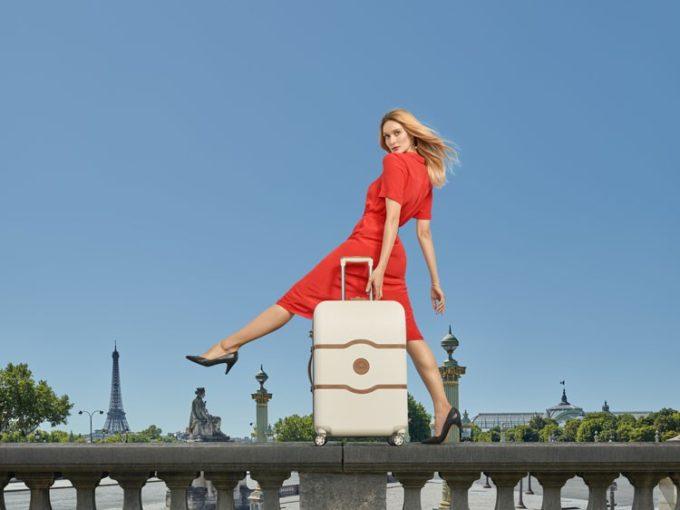 洗練デザインと優れた機能性。トップブランド「DELSEY」のスーツケースで旅を豊かに