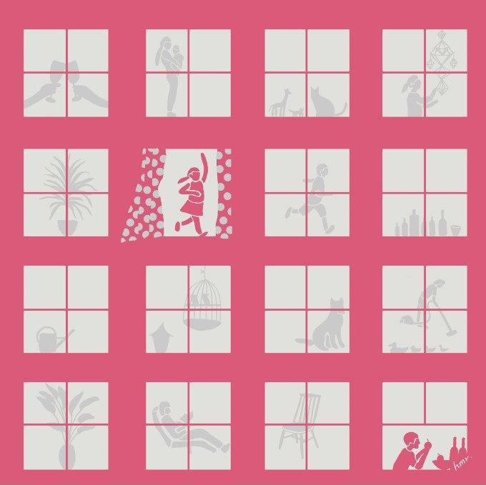 透かして見ると柄が現れる。遊び心あふれる「YURI HIMURO」のハンカチ<3選>