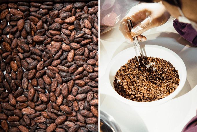「Kiitos(キートス)」のチョコレートを作る工程