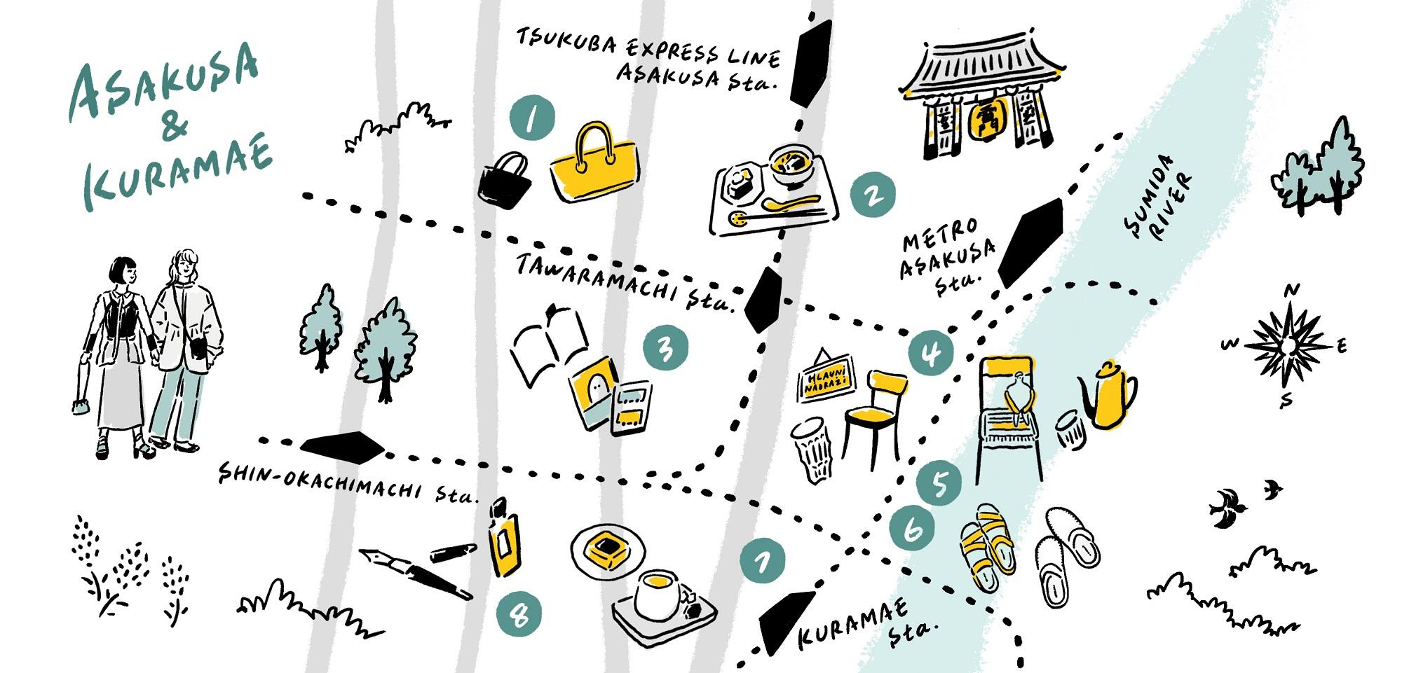 隅田川沿いを散策。文化を味わう「浅草・蔵前」エリア