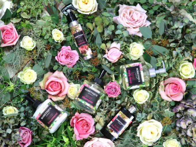 美しさの秘訣は「花」にアリ。フラワーデザイナーが手がけるブランド「ROSETIQUE」