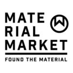 「Material Market(マテリアルマーケット)」のロゴ