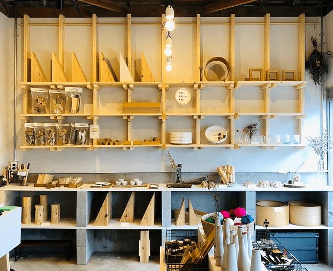 福岡県の「Material Market(マテリアルマーケット)」の店内