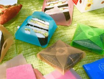パンやごはんに具材を乗せて包むだけ。簡単にお弁当が完成する「MEDIUM」のアイデア商品