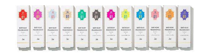 366種類のオリジナル香水。一年に一度の記念日に贈りたい「366」のバースデーフレグランス