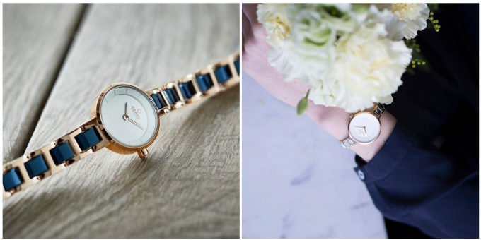 ブレスレットのように華やかかつ上品な腕時計「OBAKU(オバク)」のVINDコレクション2種