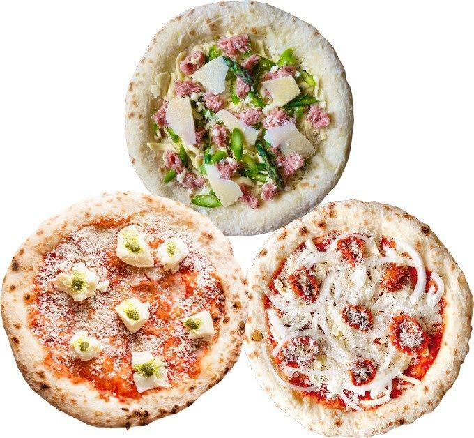 3月限定の月替りピザ販売スタート