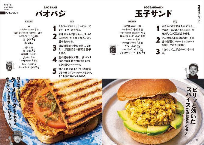 ピリッと効いたスパイスが食欲そそる。お弁当にもおすすめのカレーサンドイッチのレシピ