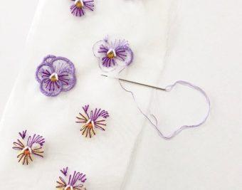 夢中になれる大人の手芸。「ACE embroidery」の刺繍のアクセサリーキット
