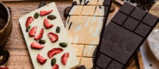 「COCO KYOTO」のチョコレート3種類