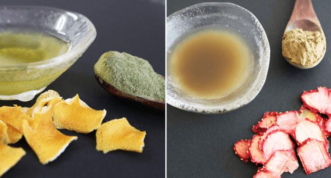 「Flavor Green(フレーバーグリーン)」のフルーツフレーバーのお茶