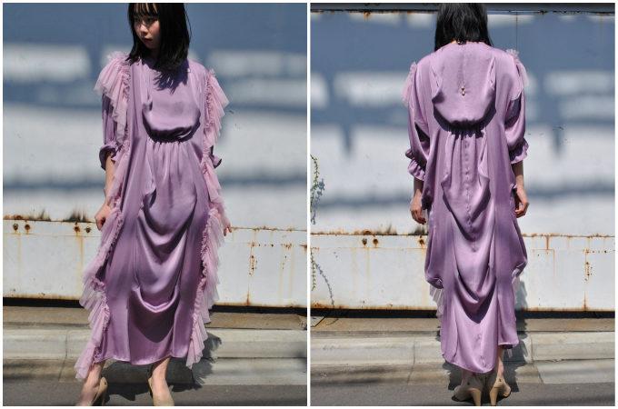 ロマンティックに拍車をかけて。春モード全開な「HOUGA」のドレス<3選>