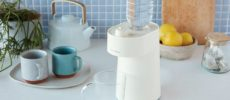 たった2秒で適温のお湯が沸かせる。白湯やお茶の時間に使いたい「ホットウォーターサーバー」
