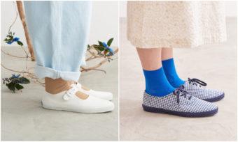 初夏に楽しむ足元のおしゃれ。大人可愛いスニーカー× 靴下コーディネート術