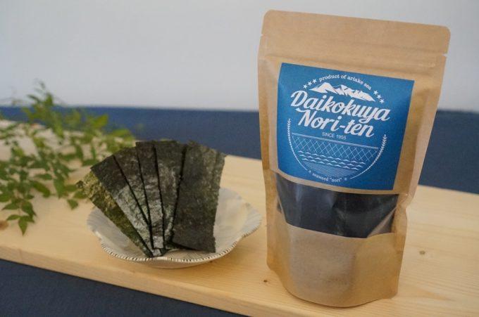 ご飯やお酒のお供に。豊富なフレーバーが揃う「大黒屋海苔店」の味付け海苔