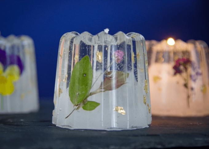 「te ao te po candle(テ アオ テ ポ キャンドル)」のジェルキャンドル3種類