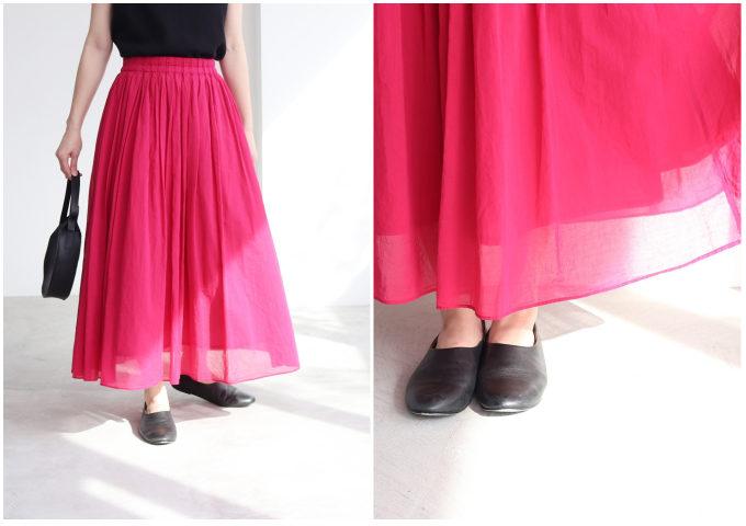 装いに華やかさをプラス。夏を彩る「カラースカート」特集