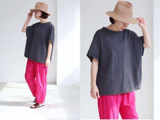 今年らしさ&着やせが叶う。「オーバーサイズTシャツ」でつくる夏の大人カジュアル