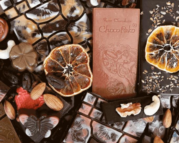 健康志向かつアーティスティック。身体も心も元気にする「ChocoReko」のローチョコ