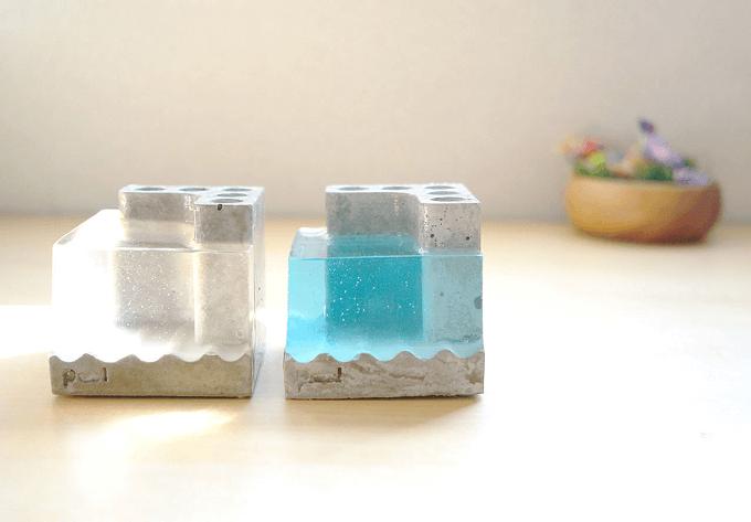 机の上に小さな自然を感じるデスクアイテム。心癒される「部屋とmidori」の雑貨たち