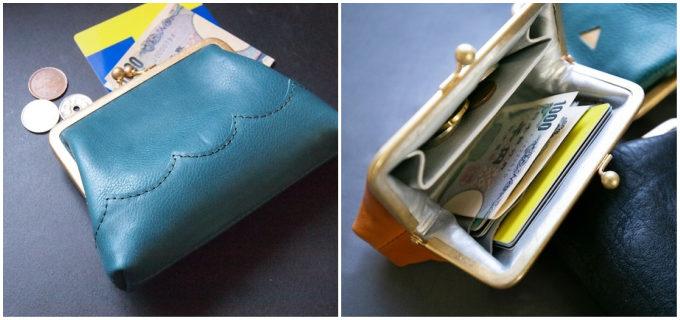 鮮やかな色や切り替えのデザインに心が弾む。色使いが楽しい「PETTICA」のがま口財布