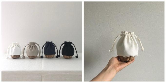 優しい風合いと一味違ったデザインに惹かれる。「toricotou」のカゴバッグ