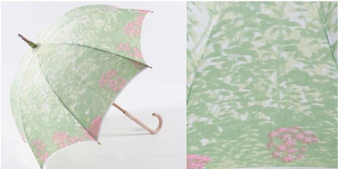 水彩画のようなゆらぎが美しい「ほぐし織」。富士山の麓で作られる涼やかな日傘たち