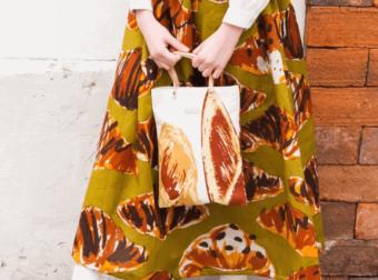 日々持ち歩きたくなる世界観。食にまつわるモチーフが愛らしい「gochisou」のバッグ