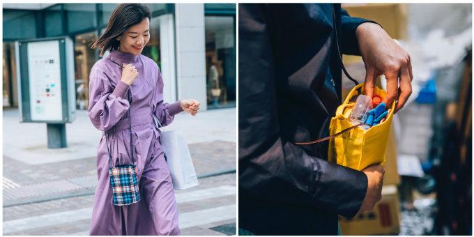 ポケット以上バッグ未満で使いやすい。ミニマムな荷物を持ち歩く「ひきだしポーチ・ぶらぶら」