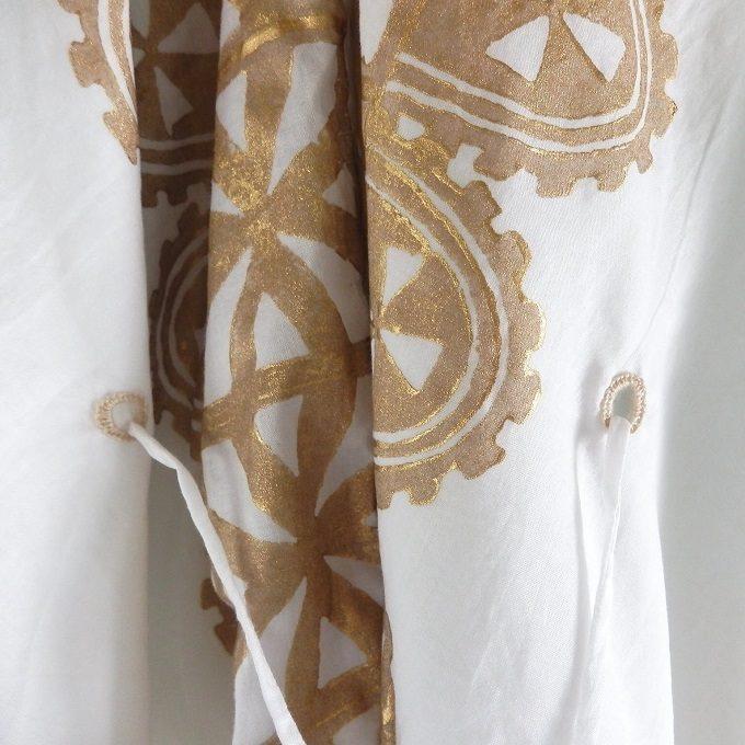 華やぎと涼感を身に纏う。夏のお出かけが楽しくなる「isica」の木版プリントアイテム