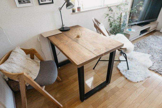 アイデア次第でお部屋が広く見える?!ダイニングテーブルを活用したレイアウト術