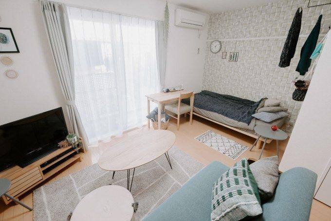 少しでも快適に暮らしたい。【畳数別】おしゃれで広く見える部屋づくりアイデア集