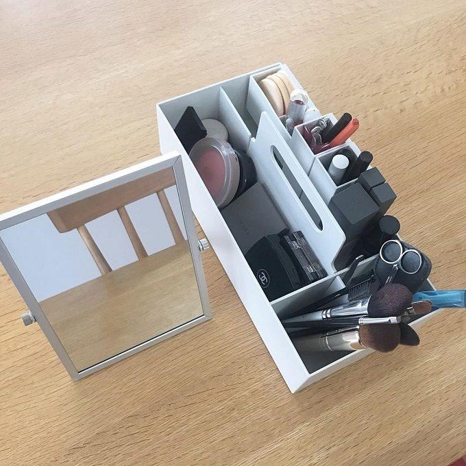 「メイク道具」を整えて、心も美しく。使いやすく素敵に収納するヒント