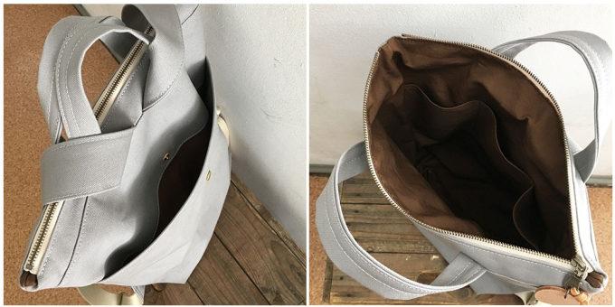 秋に合わせたいカラーが豊富。使いやすさにこだわった、「clueto」のおしゃれな帆布リュック