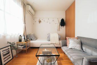 部屋がグッと広く見える。1K・ワンルームひとり暮らしさんの家具レイアウトのコツ