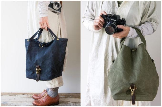 頼もしい収納力と耐久性が魅力。秋の行楽シーズンにぴったりな帆布バッグ特集