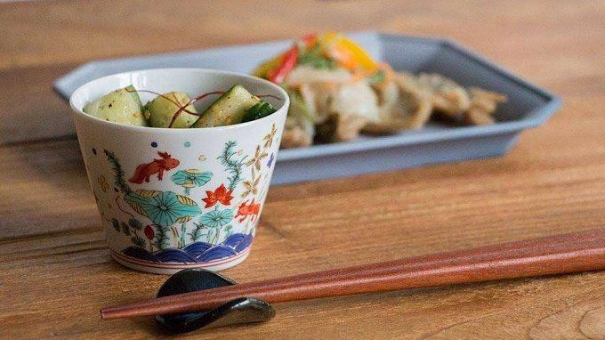 小物入れや植物の鉢にもなる。食事以外のシーンでも使いたいおしゃれな蕎麦猪口