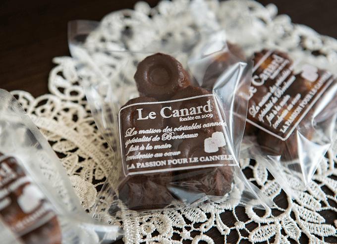 カリカリ&しっとりがやみつきに。本場のレシピをもとにした「Le canard」のカヌレ