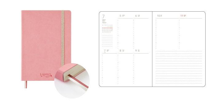どんな1年にしたい?をテーマカラーから選ぶ手帳。色とサイズが充実した「Camino」