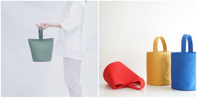 シンプルだけどどこか個性的。良質な素材にこだわった「hoop」のトートバッグ
